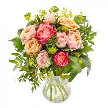 Liefdevol rozenboeket